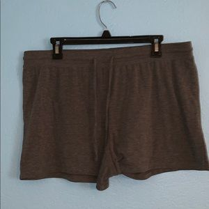 Gray Pajama/Lounge Shorts (XL)